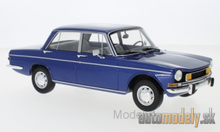 BoS-Models - Simca 1501 Special, metallic-blue, with yellow fog lights, 1974 - 1:18