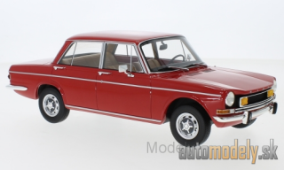BoS-Models - Simca 1501 Special, red, with yellow fog lights, 1970 - 1:18