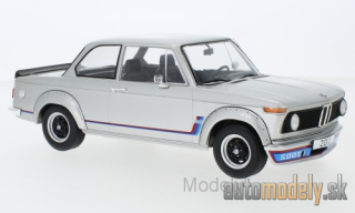 MCG - BMW 2002 Turbo, silver, 1973 - 1:18