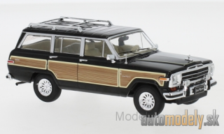 IXO - Jeep Grand Wagoneer , black/wood optics, 1989 - 1:43