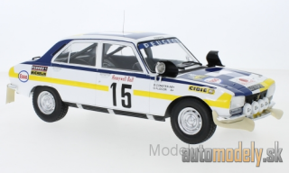 IXO - Peugeot 504 Ti, No.15, Rally Marokko, B.Consten/G.Flocon, 1975 - 1:18