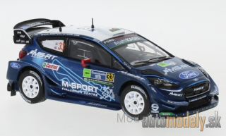 IXO - Ford Fiesta RS WRC, No.33, Rallye WM, Rally Mexico, E.Evans/S.Mart, 2019 - 1:43