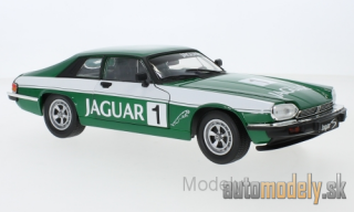 Lucky Die Cast - Jaguar XJS, metallic-dunkelgrün/Decorated, No.1, Jaguar, 1975 - 1:18