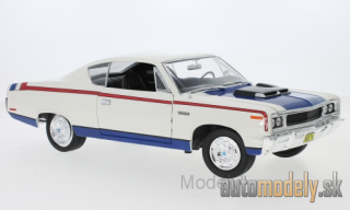 Lucky Die Cast - AMC Rebel, white/Decorated, 1970 - 1:18