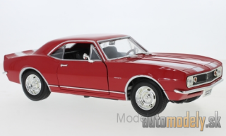 Lucky Die Cast - Chevrolet Camaro Z28, red/white, 1967 - 1:18