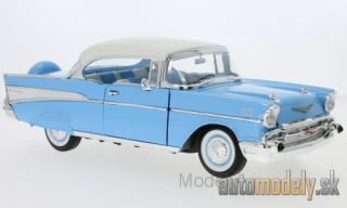 Lucky Die Cast - Chevrolet Bel Air Hardtop, light blue/white, 1957 - 1:18
