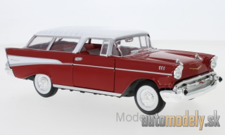 Lucky Die Cast - Chevrolet Nomad, red/white, 1957 - 1:24