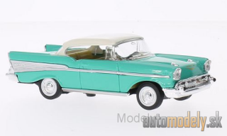 Lucky Die Cast - Chevrolet Bel Air, hellgrün/white, 1957 - 1:43