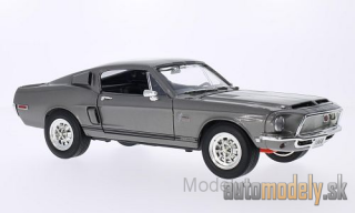 Lucky Die Cast - Shelby GT-500KR, metallic-grau/black, 1968 - 1:18