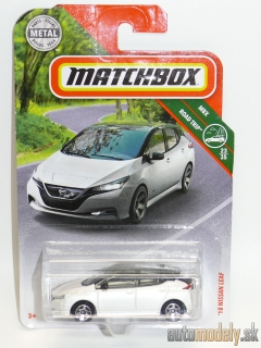 Matchbox - 2018 Nissan Leaf MBX Road Trip 23/35