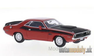 BoS-Models - Dodge Challenger T/A, red/black, 1970 - 1:43