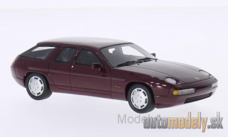 BoS-Models - Porsche 928 H50 concept, metallic-dark red, 1987 - 1:43