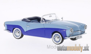 BoS-Models - Rometsch Lawrence Convertible, light blue/dark blue, 1957 - 1:43
