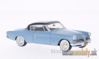 BoS-Models - Studebaker Commander Starliner, light blue/dark blue, 1953 - 1:43
