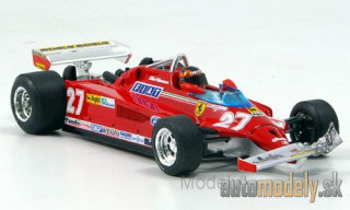 Brumm - Ferrari 126 CK Turbo, No.27, scuderia Ferrari, formula 1, GP Canada, with figure of driver, round 39-54, G.Villeneuve, 1981 - 1:43