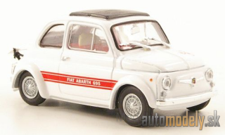 Brumm - Fiat Abarth 695SS, white/red, 1968 - 1:43