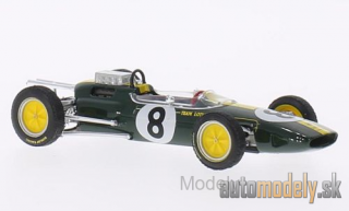 Brumm - Lotus 25, No.8, team Lotus, formula 1, GP Italy, J.Clark, 1963 - 1:43