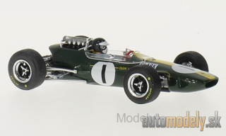 Brumm - Lotus 33, No.1, formula 1, GP Germany, J.Clark, 1965 - 1:43