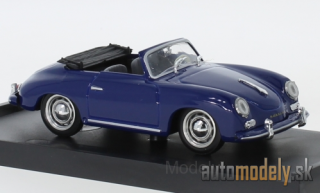 Brumm - Porsche 356 Convertible, dark blue, 1952 - 1:43