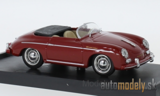 Brumm - Porsche 356 Speedster, dark red, 1952 - 1:43