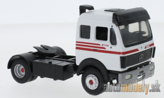 Eligor - Mercedes 1835, white/red, Solo-towing vehicle - 1:43