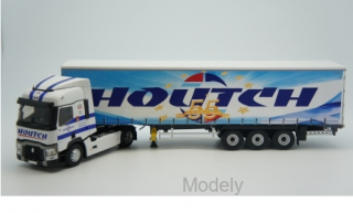 Eligor - Renault T, Transports Houtch, curtain covers truck - 1:43