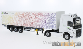 Eligor - Volvo FH 4 Globetrotter, Phon Express, curtain side-trailer truck - 1:43