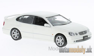 First:43 - Toyota Aristo, metallic-white, RHD, 2001 - 1:43