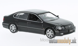 First:43 - Toyota Aristo, black, RHD, 2001 - 1:43