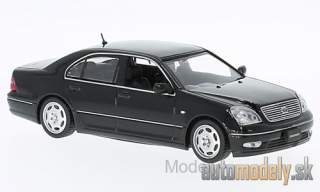 First:43 - Toyota Celsior, black, RHD, 2001 - 1:43