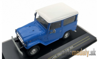First:43 - Toyota Land Cruiser FJ 40, blue, 1973 - 1:43