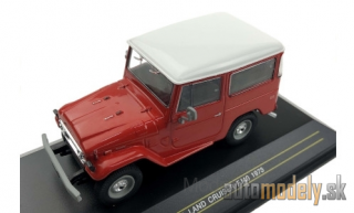 First:43 - Toyota Land Cruiser FJ 40, red/white, 1973 - 1:43