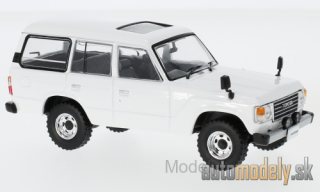 First:43 - Toyota Land Cruiser LC60, white, RHD, 1982 - 1:43
