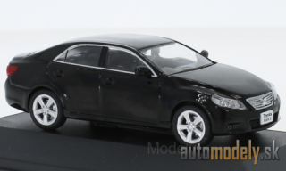 First:43 - Toyota Mark-X, black, RHD, 2012 - 1:43