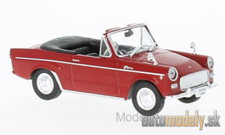 First:43 - Toyota Publica Convertible, red, RHD, 1964 - 1:43