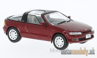 First:43 - Toyota Sera, dark red, RHD, 1990 - 1:43