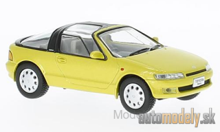 First:43 - Toyota Sera, metallic-yellow, RHD, 1990 - 1:43