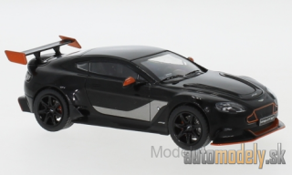 IXO - Aston Martin Vantage GT 12, black/orange, 2015 - 1:43