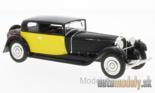 IXO - Bugatti 41 Royale Coach (Weymann), black/yellow, 1929 - 1:43