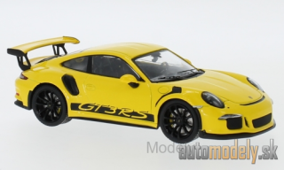 IXO - Porsche 911 (991) GT3 RS, yellow, 2017 - 1:43