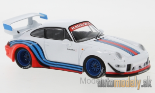 IXO - Porsche 911 RWB (993), white/Decorated, RAUH-Welt - 1:43