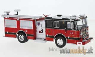IXO - Seagrave Marauder II, red/black, Fire Department - 1:43