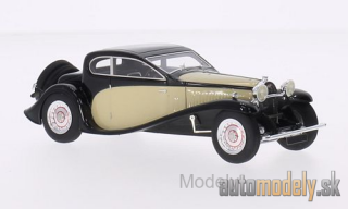 Look Smart - Bugatti Type 50 T, black/beige, RHD, 1930 - 1:43