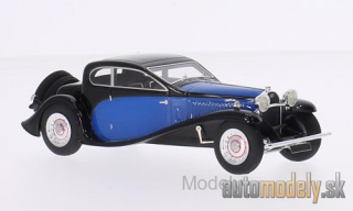 Look Smart - Bugatti Type 50 T, black/blue, RHD, 1930 - 1:43