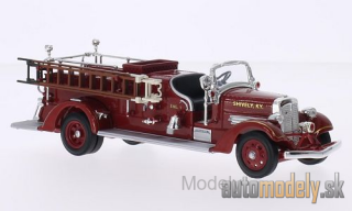 Lucky Die Cast - Ahrens Fox VC, shively Fire Dept., 1938 - 1:43