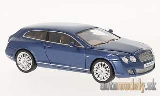 NEO - Bentley Continental Flying star by Touring, metallic-blue, 2010 - 1:43