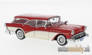 NEO - Buick Century Caballero Estate Wagon, red/beige, 1957 - 1:43