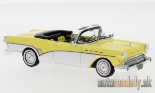 NEO - Buick Roadmaster Convertible, light yellow/white, 1957 - 1:43