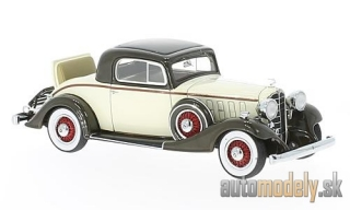 NEO - Buick series sixty-six S sport Coupe, beige/dunkelbraun, 1933 - 1:43