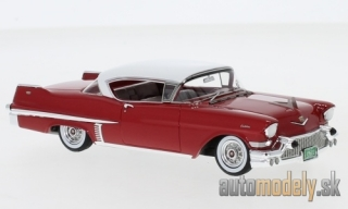 NEO - Cadillac series 62 Hardtop Coupe, red/white, 1957 - 1:43